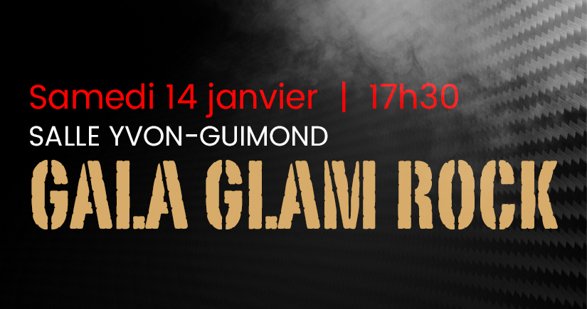 Couronnement Glam Glam Rock